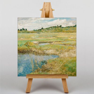 Big Box Art The Concord Meadow by Childe Hassam Art Print on Canvas
