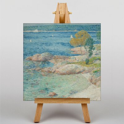 Big Box Art The Outer Harbour by Childe Hassam Art Print on Canvas