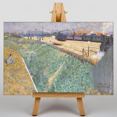 Big Box Art The Western Railway by Charles Angrande Art Print on Canvas