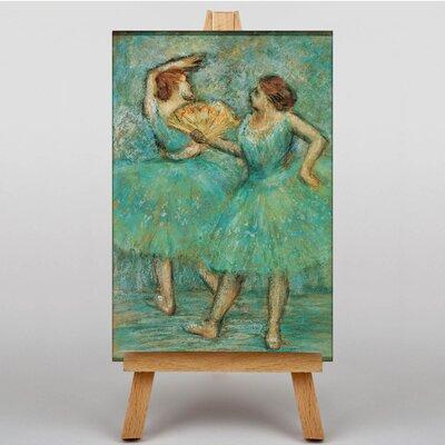 Big Box Art Two Dancers by Edgar Degas Art Print on Canvas