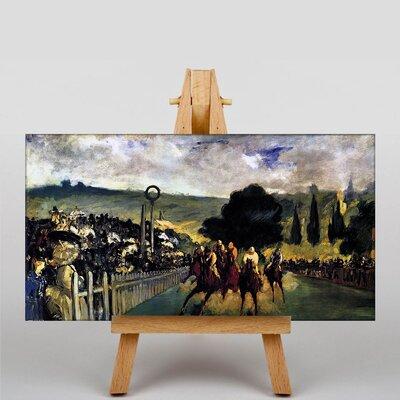 Big Box Art Race Before the Start by Edouard Manet Art Print on Canvas