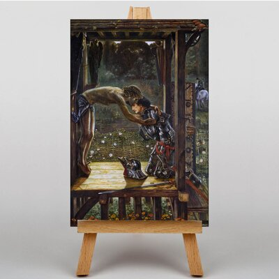 Big Box Art The Merciful Knight by Edward Burne-Jones Art Print on Canvas