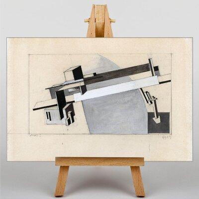 Big Box Art The Bridge by El Lissitzky Graphic Art on Canvas