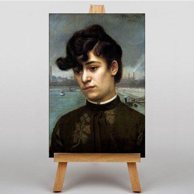 Big Box Art Portrait of Juliette Lacour by Felix Vallotton Art Print on Canvas