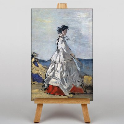 Big Box Art Princess Pauline Metternich by Eugene Boudin Art Print on Canvas