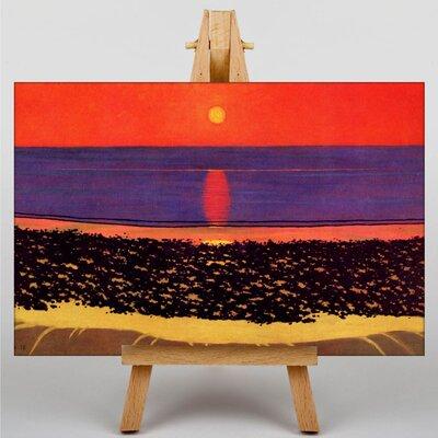 Big Box Art To Lay Down the Sun Villerville by Felix Vallotton Art Print on Canvas