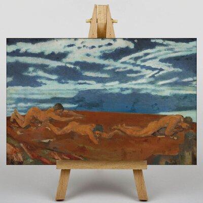 Big Box Art Earth's Throat Edge by Arthur Bowen Davies Art Print on Canvas