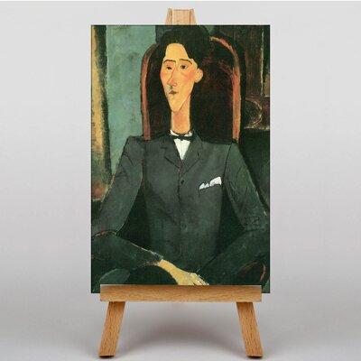 Big Box Art Bildnis Jean Cocteau by Amedeo Modigliani Art Print on Canvas