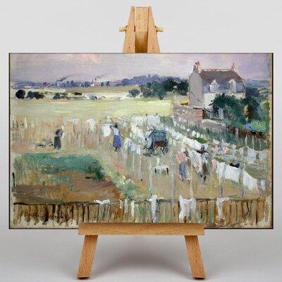 Big Box Art Laundry by Berthe Morisot Art Print on Canvas