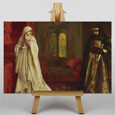 Big Box Art Fair Rosamund and Eleanor by Frank Cowper Cadogan Art Print on Canvas