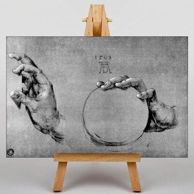 Big Box Art Hand of God the Father by Albrecht Durer Art Print on Canvas
