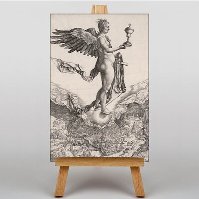 Big Box Art Nemesis by Albrecht Durer Art Print on Canvas