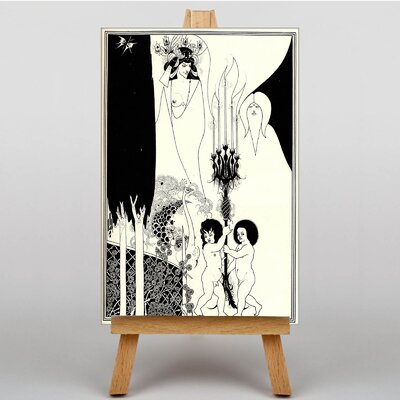 Big Box Art The Eyes of Herod by Aubrey Beardsley Graphic Art on Canvas