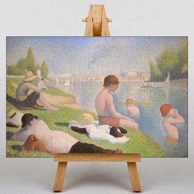 Big Box Art Seurat Bathers by Seurat Bathers Art Print on Canvas