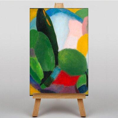 Big Box Art Landscape by Alexi Von Jawlensky Art Print on Canvas