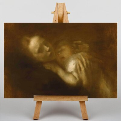 Big Box Art Mother and Child by Eugene Carriere Art Print on Canvas
