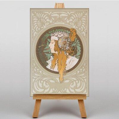 Big Box Art Byzantine by Alphonse Mucha Graphic Art on Canvas