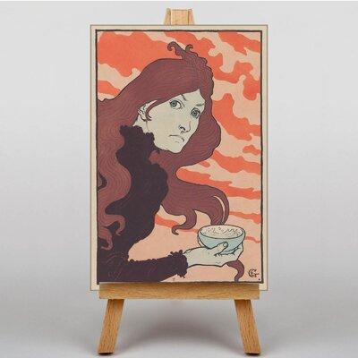 Big Box Art La Vitrioleuse by Eugene Grasset Art Print on Canvas