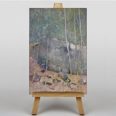 Big Box Art Forest Landscape by Eugene Jansson Art Print on Canvas