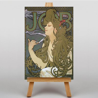 Big Box Art Job by Alphonse Mucha Graphic Art on Canvas