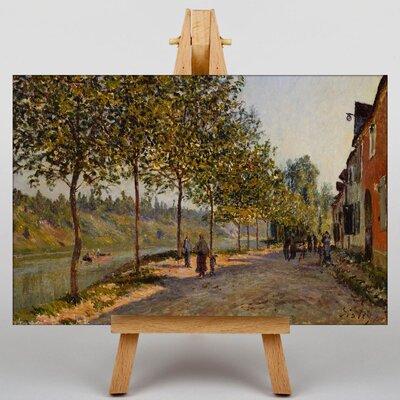Big Box Art June Morning by Alfred Sisley Art Print on Canvas