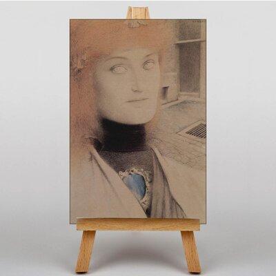 Big Box Art Portrait No.2 by Fernand Khnopff Art Print on Canvas