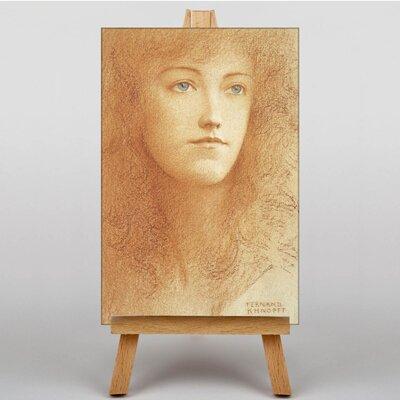 Big Box Art Portrait No.3 by Fernand Khnopff Art Print on Canvas