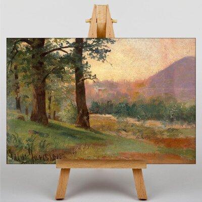 Big Box Art Vid Skogsbrynet by Eugene Jansson Art Print on Canvas