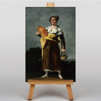 Big Box Art The Water Carrier by Francisco De Goya Art Print on Canvas