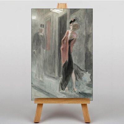 Big Box Art Human Parody by Felicien Rops Art Print on Canvas
