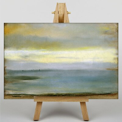 Big Box Art Beach at Low The Tide by Edgar Degas Art Print on Canvas