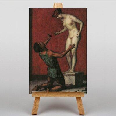Big Box Art Pygmalion by Franz Stuck Art Print on Canvas