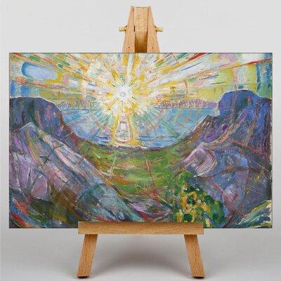 Big Box Art The Sun by Edvard Munch Art Print on Canvas