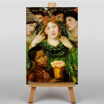 Big Box Art The Beloved by Dante Gabriel Rossetti Art Print on Canvas