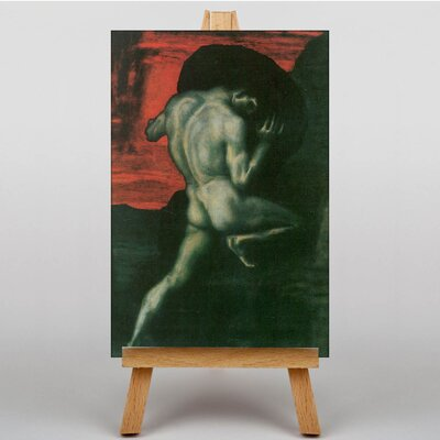 Big Box Art Sisyphus by Franz Stuck Art Print on Canvas