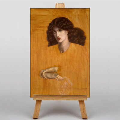 Big Box Art The Lady of Pitty by Dante Gabriel Rossetti Art Print on Canvas