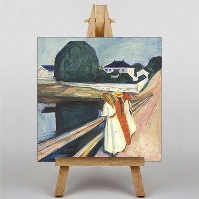 Big Box Art The Modern Eye by Edvard Munch Art Print on Canvas