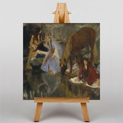 Big Box Art The Ballet, La Source by Edgar Degas Art Print on Canvas