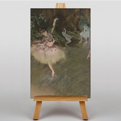 Big Box Art The Star by Edgar Degas Art Print on Canvas