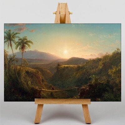 Big Box Art Church American Pichincha by Frederic Edwin Art Print on Canvas