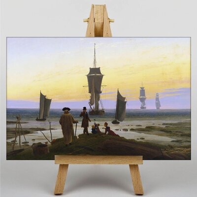 Big Box Art The Stages of Life by Caspar David Friedrich Art Print on Canvas