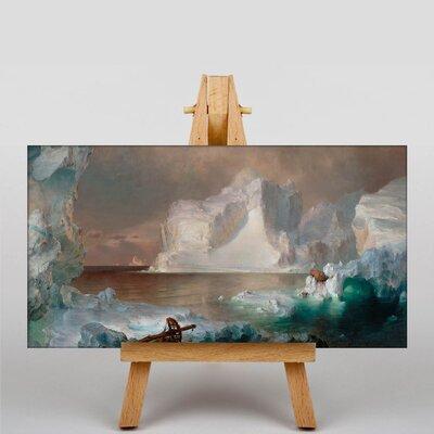 Big Box Art Church Iceberg by Frederic Edwin Church Art Print on Canvas
