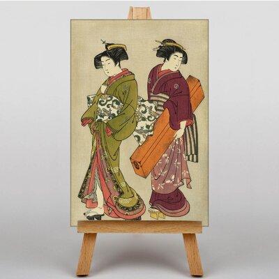Big Box Art Geisha Japanese Oriental Art Print on Canvas