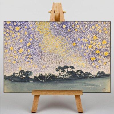 Big Box Art The Night Sky by Henri-Edmond Cross Art Print on Canvas