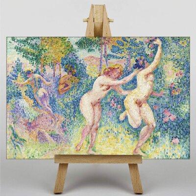 Big Box Art The Nymphs by Henri-Edmond Cross Art Print on Canvas
