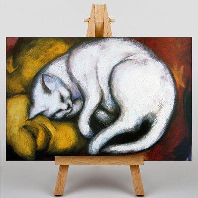 Big Box Art Sleeping Cat by Franz Marc Art Print on Canvas