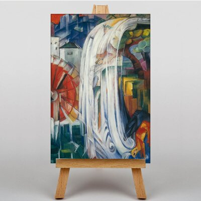 Big Box Art The Bewitched Mill by Franz Marc Art Print on Canvas
