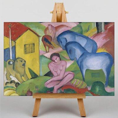 Big Box Art The Dream by Franz Marc Art Print on Canvas