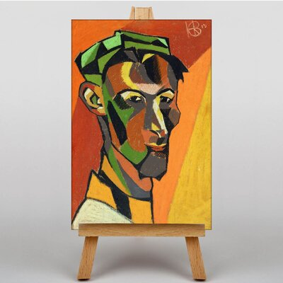 Big Box Art Portrait by Henry Gaudier-Brzeska Art Print on Canvas