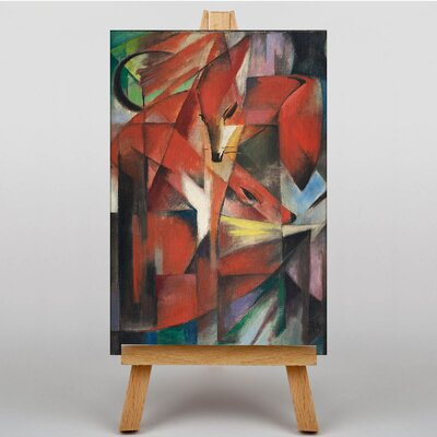 Big Box Art The Fozes No.2 by Franz Marc Art Print on Canvas